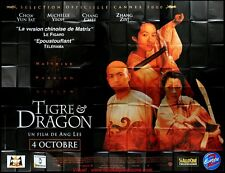 TIGRE ET DRAGON Affiche Cinéma GEANTE 4x3 WIDE Movie Poster Ang Lee
