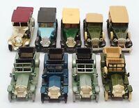 Lledo Diecast Vehicles L509 - Set Of 9 Rolls Royce Model Cars