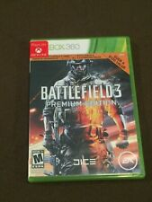 Microsoft XBox 360 Video Game Battlefield 3 Premium Edition Rated M NICE