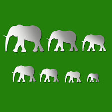 African Elephant Acrylic Wall Stickers / Wall Decors / Wall Art / Decorations