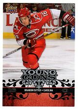 1X BRANDON SUTTER 2008-09 Upper Deck OVERSIZE Young Guns #OYG3 Series 1 Jumbo