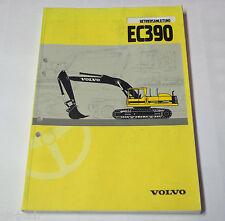 Operating Instructions Manual Volvo Excavator Ec 390