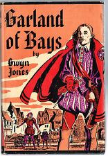 1938 Garland of Bays by Gwen Jones  Historical Novel Robert Green English Writer