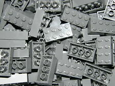 LEGO 50 x DARK GREY BRICKS 2 x 4  No 3001   STAR WARS-CITY-MOVIE