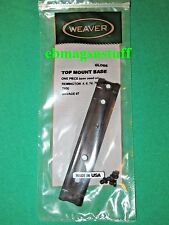 REMINGTON 7600, 76, 6 SCOPE MOUNT RAIL BASE - BY WEAVER ++ with Screws ++ New