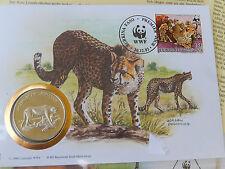 Numisbrief 30 Jahre WWF 1993 Republique de Haute Volta  Gepard