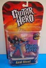 "Guitar Hero Axel Steel Variant Rock Star Action Figure SEALED 5"""