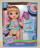 Baby Alive Darci S Dance Class Blonde Hair Doll By Hasbro