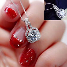 Fashion Crystal Charm Pendant Jewelry Chain Chunky Statement Choker Necklace gt