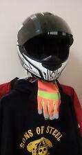 HELMET HANGER (WHITE)  Motorcycle Helmet, Jacket Display & Storage Rack.,US Made