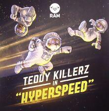"TEDDY KILLERZ - Hyperspeed - gatefold yellow vinyl double 12"" Ram Drum And Bass"