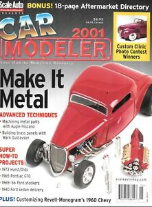Car Modeler Annual 2001 Hurst Pontiac GTO Ford Sedan Delivery 1934 Ford Coupe