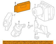 MERCEDES OEM SLK32 AMG ABS Anti-Lock Brake System-Control Module 1705450532