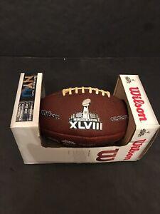 Super Bowl 48 XLVIII NY NJ Commemorative Pee Wee NFL Football Seattle Seahawks