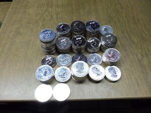 Kanada , 1 Unze Silber , 5 $ Maple Leaf , Auswahl aus 1988 / 2021