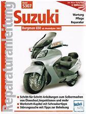 neuovp CD MANUALE OFFICINA SERVIZIO SUZUKI an400 BURGMAN k7-l6 tedesco ORIGIN