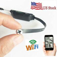 Wireless Mini WIFI HD 1080p SPY Hidden Pinhole screw Camera DVR Motion Activated