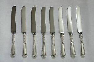 TOWLE LOUIS XIV PATTERN STERLING SILVER FLAT HANDLE BUTTER KNIVES #88811-15 DBW