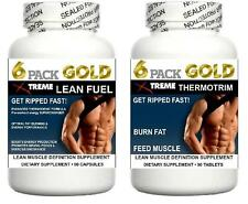 Lean Muscle Growth Pills Abs Cortisol Burn Fat Loss Training Workout Energy Aid