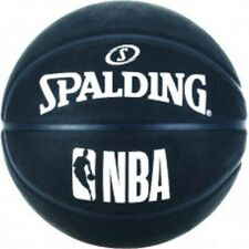 Spalding NBA Outdoor Basketball Size 7 Adult BLACK Basket Ball Inflated NEW 2019
