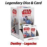Star Wars Destiny - Legacies - Legendary Cards & Dice - Free Postage