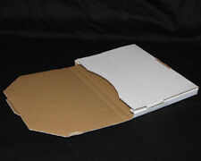 20 x Flat Mailing Box Envelope Carton 100x180mm FDC1 16mm Larger Letter Size