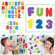 Kids Alphabet Learning Bath Tube Toys Toddlers Water Floating Letters & Numbers