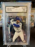 2020 Topps Chrome #186 Kyle Lewis Mariners RC Rookie GMA Gem MT 10