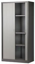 Tambour Door Unit Tambour door Cabinet Office Stationery Storage Cupboard