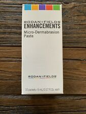 Rodan and Fields Enhancements Microdermabrasion Paste 10 Packets 5ml Each - NEW