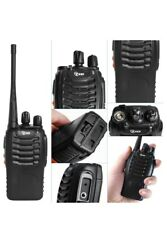 Tid Td-V2 Uhf Fm Transceiver Walkie Talkie Radios [2 Handheld Radios] New!