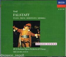 Verdi: Falstaff / Solti, Merrill, Evans, Freni, Simionato, Kraus - CD