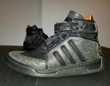 67e73ed3fe29d 2011 Adidas Neo Y-3 Yohji Yamamoto Black High Top Shoes Size 10 CRAZY DESIGN