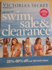 Victoria's Secret Swim Sale & Clearance 2010 vol.3 no.1 ( Blue cover )