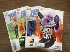 BLACK CAT #1-4, MARVEL comics, 2010 (SPIDER-MAN)