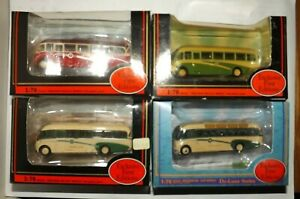 JOB LOT OF 4 EFE COACHES 4MM 1:76 SCALE