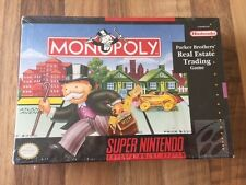 Super Nes :        MONOPOLY    NEUF/NEW          PAL US