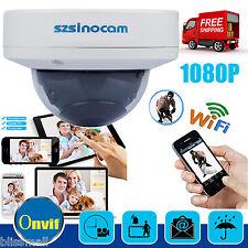 1080P HD 2MP  IP Dome Kamera Netzwerk WLAN ONVIF CCTV Überwachungskamera Outdoor