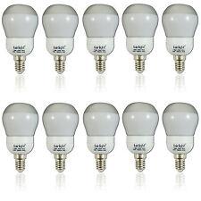 10x  7 Watt 105cd Energiesparlampe Sockel E14 Energieeffizienz: A Warmweiß