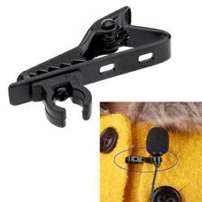 Clip supporto colletto maglia lavalier supporto porta reggi microfono metallo