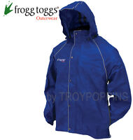 1-FROGG TOGGS RAIN GEAR-TT6039 TEKK TOAD JACKET/PARKA REFLECTIVE WET RIDING WEAR