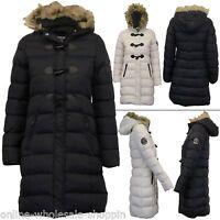 Womens Italian Wool Knitted Cocoon Coat Ladies Winter Jacket Size 14 16 18 20 L