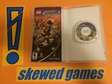 LEGO Indiana Jones 2 The Adventure Continues - PSP Sony COMPLETE