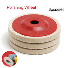 Metal Wool Polishing Wheel Angle Grinder Wheels Buffing Pads Felt Polish Disc