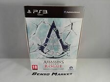ASSASSIN'S CREED ROGUE COLLECTOR'S EDITION SONY PS3 PLAYSTATION PAL ITA COMPLETO