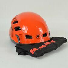 Mammut Rock Rider Climbing Helmet / Red Orange Large (56-61cm)
