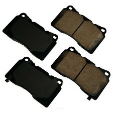 Disc Brake Pad Set-Performance Ultra Premium Ceramic Pads Front,Rear Akebono