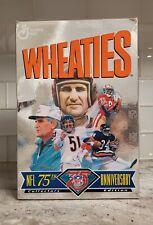 1994 WHEATIES NFL 75th Anniversary Baugh Butkus Payton Rice Shula Cereal Box