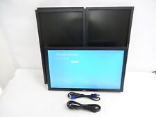 LOT OF 4 Dell Professional P2211Ht 21.5'' WideScreen Monitor (8) cable Included