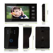 "New 7"" Wireless Video Door Intercom Doorbell IR Camera Night Vision Home Safety"